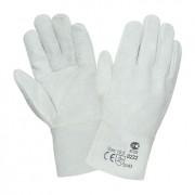 Перчатки спилковые (белые)