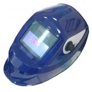 Сварочная маска Хамелеон (цвет синий) с регулировкой затемнения АСФ